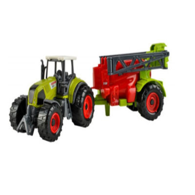 Farm / Agricultural machinery set of 6 pieces with Tractors and Trailers